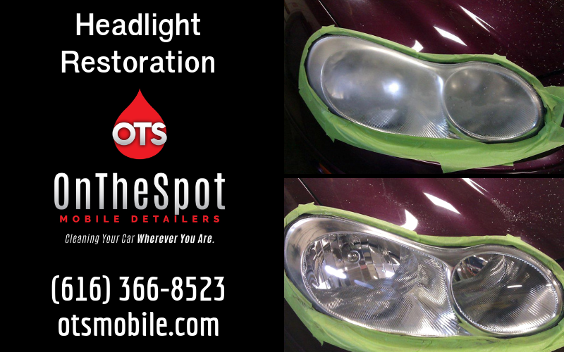 Headlight Restoration - OnTheSpot Mobile Detailers