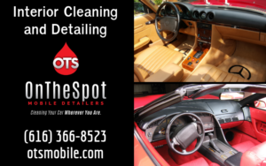 Interior Cleaning and Detailing - OnTheSpot Mobile Detailers