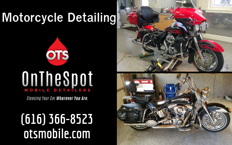 Motorcycle Detailing - OnTheSpot Mobile Detailers
