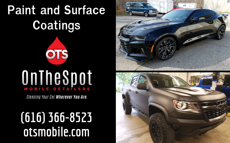 Paint and Surface Coatings - OnTheSpot Mobile Detailers