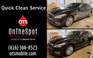 Quick Clean Service - OnTheSpot Mobile Detailers