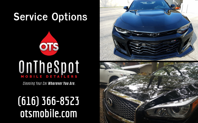 Service Options - OnTheSpot Mobile Detailers