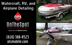 Watercraft, RV, and Airplane Detailing - OnTheSpot Mobile Detailers