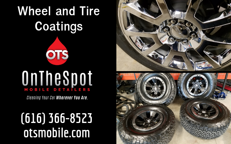 Wheel and Tire Coatings - OnTheSpot Mobile Detailers