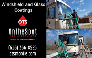 Windshield and Glass Coatings - OnTheSpot Mobile Detailers